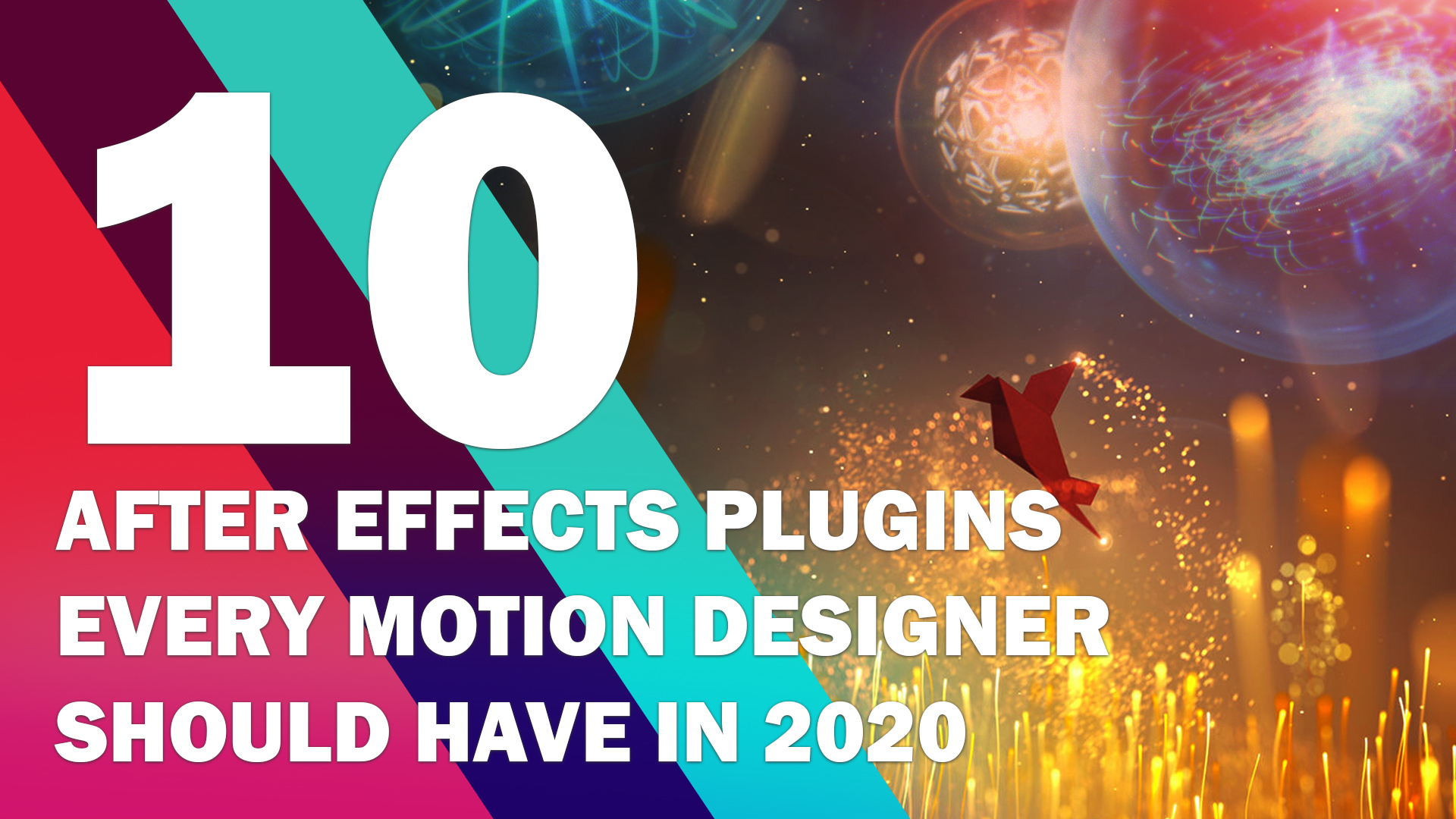 10 After Effects Plugins Every Motion Designer Should Have in 2020